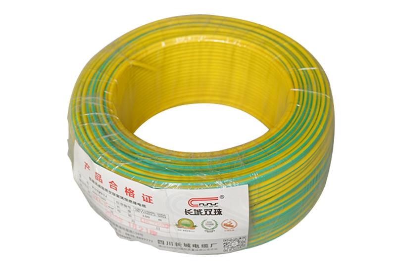 双色阻燃聚氯乙烯绝缘无护套电线